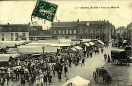 62  HENIN-LIETARD PLACE DU MARCHE / A 584 - France