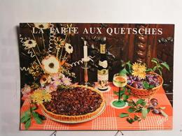 Recettes  (cuisine) - La Tarte Aux Quetsches - Recettes (cuisine)