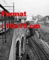 Reproduction Photographieancienne D'une Vue D'un Train Qui A Heurté Le Pilier Du Pont Gare De Chaville-Vélizy En 1961 - Repro's