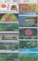 11 Télécartes TAIWAN Lot1 - Taiwan (Formose)