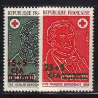 La Réunion 1972 Yvert 412/13 Neufs** MNH (AB70) - Réunion (1852-1975)