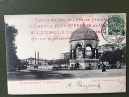 Fontaine Guillaume II Et L'Hippodrome - Turquie
