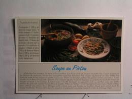 Recettes Du Midi (cuisine) - La Soupe Au Pistou - Recettes (cuisine)