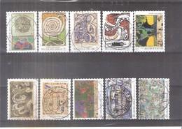 COB-OCB - 4244/53 - Obl/gest/used - Used Stamps