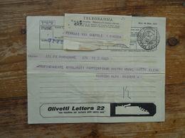 Telegram, Olivetti, Typewriter - Usines & Industries
