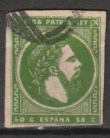 1875 Don Carlos - Carlistische Post Mi 3. - Carlistes