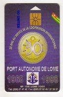 TOGO Ref MV Cards TOG-22  50 U PORT DE LOME - Togo