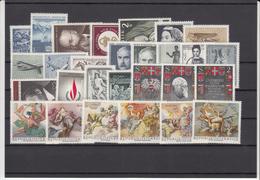 Austria 1968 - Full Year MNH ** - Volledige Jaargang
