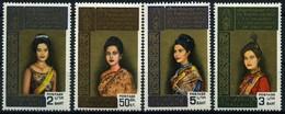 1968 Tailandia, Regina Sirikit Kittiyakara, Serie Completa Nuova (**) - Thaïlande