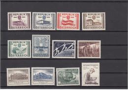 Austria 1955 - Full Year MNH ** - Años Completos