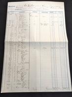 1870 Grand Contrat Assurance De Cargaison Bateau Navire Prefet Féart Capitaine Barra Mallard Saint Malo Nouméa 47x32cm - Manuscrits