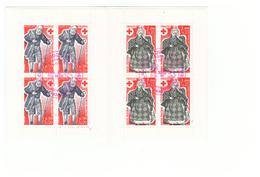 1977 Carnet Croix Rouge Oblitéré Oblitération Premier Jour Cachet Rouge Marseille Timbres N°1959 Et 1960 - Booklets