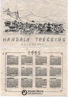 Mandala Trekking -  KATTHMANDU - Papier Spécial - Calendrier 1995 - (118672) - Kleinformat : 1991-00