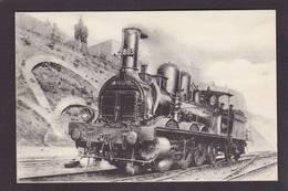 CPA Locomotive Chemin De Fer Train Non Circulé Type Fleury éditeur HMP 406 - Trains