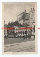 UDINE - PIAZZA VITT. EMANUELE  F/PICCOLO VIAGGIATA 1930 ANIMATA CON TRAM - Udine