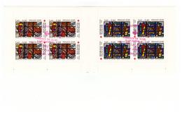 1981 Carnet Croix Rouge Oblitéré Oblitération Premier Jour Cachet Rouge Audincourt Timbres N°2175 Et 2176 - Booklets