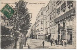 92  LEVALLOIS-PERRET  Rue Gravel Et La Poste - Levallois Perret