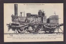 CPA Locomotive FLEURY Légende Noire Chemin De Fer Train Non Circulé - Trains
