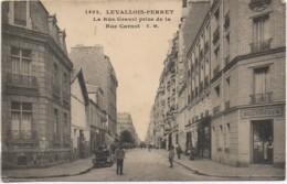 92  LEVALLOIS-PERRET La Rue Gravel Prise De La Rue Carnot - Levallois Perret