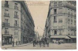 92  LEVALLOIS-PERRET La Rue Vallier Prise Du Boulevard Bineau - Levallois Perret
