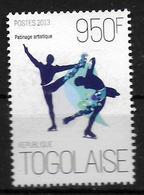 TOGO  N° 3459 * *    Jo 2014 Patinage - Figure Skating