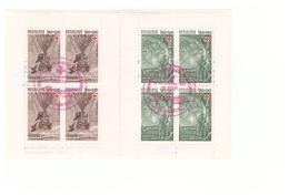 1982 Carnet Croix Rouge Oblitéré Oblitération Premier Jour Cachet Rouge Nantes Timbres N°2247 Et 2248 - Booklets