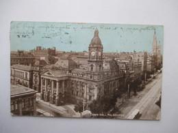MELBOURNE  -  TOWN  HALL  ....             TTB - Melbourne