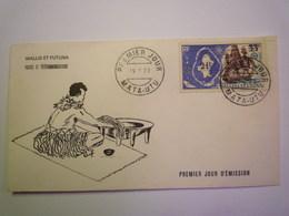 2020 - 4932  ENVELOPPE 1er JOUR Au Départ De MATA-UTU  Avec Timbre Surchargé  1971   XXXX - Covers & Documents