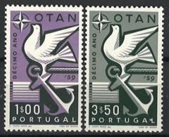 Portugal 1960. Mi.Nr. 878-79, *, MLH - Ungebraucht