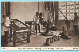 1540 - ZUID AFRIKA - SOUTH AFRICA - PRETORIA - ROYAL MINT - SORING AND MARKING MACHINES - Südafrika