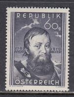 Austria 1950 - Andreas Hofer, Mi-Nr. 949, MNH** - 1945-60 Unused Stamps