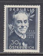 Austria 1950 - Alexander Girardi, Mi-Nr. 958, MNH** - 1945-.... 2nd Republic