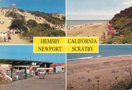 CPSM NORFOLK - Hemsby - California - Newport - Scratby   L3033 - Autres