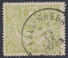 "Chemin De Fer - TR80 Obl Relais ""Fall - Mheer"" - 1915-1921"