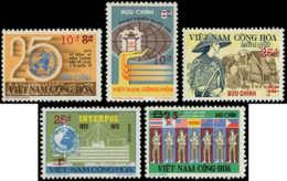 VIETNAM DU SUD Poste ** - 513/517, Complet (Michel) - Cote: 94 - Viêt-Nam