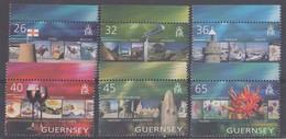GUERNSEY 2004  EUROPA VACANZE  N. 1012/1017   MNH - Guernesey