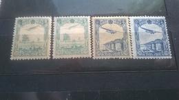 Manchukuo China 1936 -1937 Airmail MNH - 1932-45 Manchuria (Manchukuo)