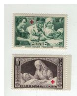 FRANCE - N°YT 459/60 NEUFS** - 1940 - COTE: 28.00€ - France