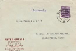 Allierter Besetzung Sowjetische Zone Brief Werbung 1948 - Soviet Zone