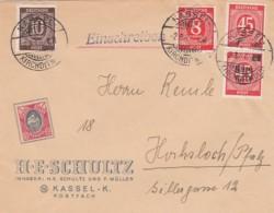 Allierter Besetzung Brief Werbung Zehnfachfrankatur 1947 - Unclassified