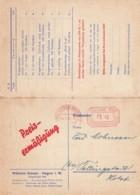 Deutsches Reich Werbung Postkarte Mit Rotfrankerung 1930 - Unclassified