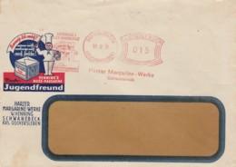 Deutsches Reich Werbung Brief Mit Rotfrankerung 1931 - Covers