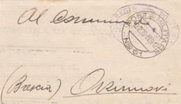 Italien Posta Militara Dokument 1939 - Used