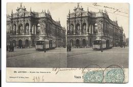 ANVERS 1906 - TRAMWAY Devant Le Musée Des Beaux-arts - VENTE DIRECTE X - Antwerpen