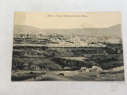 CPA MAROC - FEZ - 2 - Vue Du Mellah, Prise De Dar Mahrez - Fez (Fès)