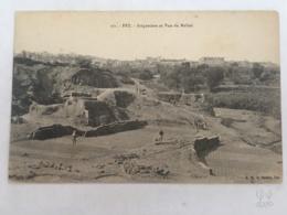 CPA MAROC - FEZ (FES) - 261 - Briquetiers Et Vue Du Mellah - Fez (Fès)