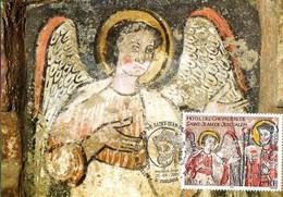 France 3385 Fdc Hôtel Des Chevaliers De Saint Jean De Jérusalem, Ange - Religious