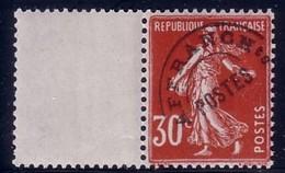 SEMEUSE - 30c - PREOBLITERE - N°61 AVEC INTERPANNEAU. - 1893-1947