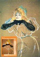 France 3421 Fdc Henri De Toulouse-Lautrec, Yvette Guilbert - Impressionisme