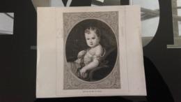 Affiche (dessin) - Portrait Du ROI DE ROME - Manifesti
